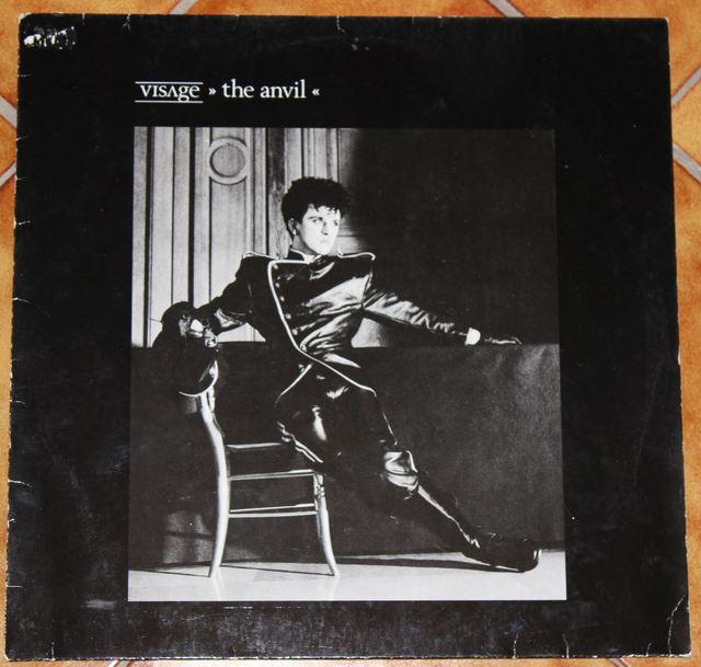 Visage - The Anvil (LP-Cover)