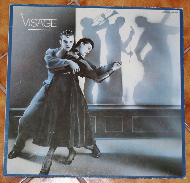 Visage - Visage (LP-Cover)