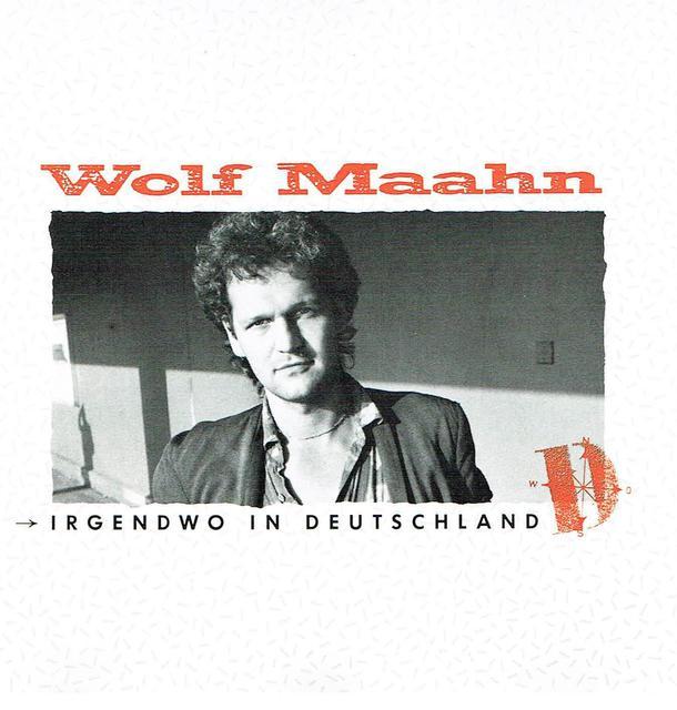 Wolf Maahn - Irgendwo In Deutschland (CD-Cover)