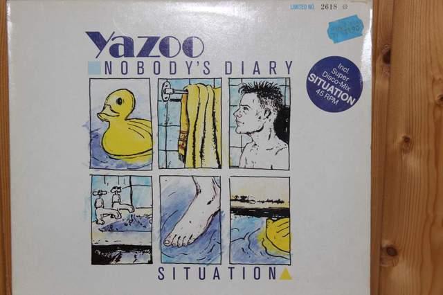Yazoo Nobody\'s Diary Maxi 1983