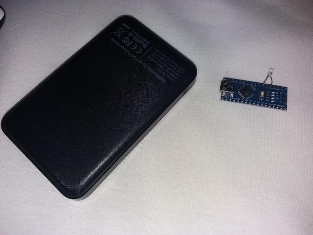 Der Arduino Mit Der Powerbank