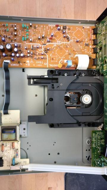 Technics SL - PS 70 (Innenansicht)