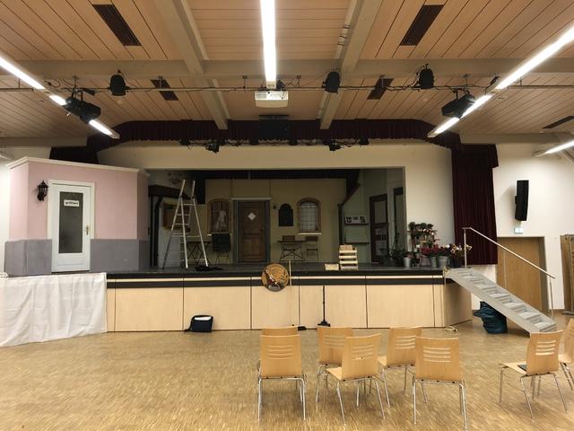 Bühne Frontansicht