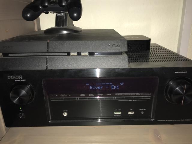 AVR, PlayStation, Apple TV