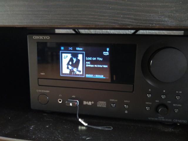 Onkyo cs-n575d Amazon music