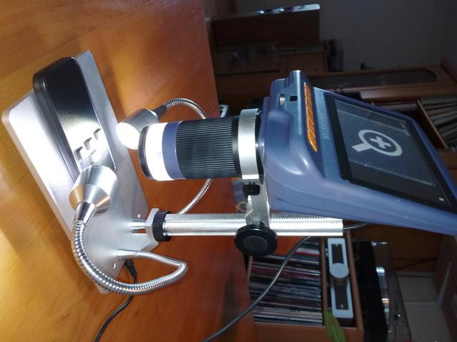 Befestigung USB-Mikroskop