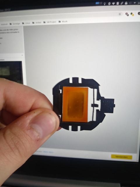 Sanyo PLV Z3000 Gelbtsich Offen Polfilter