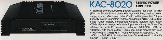 KAC 8020