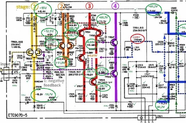 denon-poa-2200-schematic-detail-left-power-amp-voltages_checked_1
