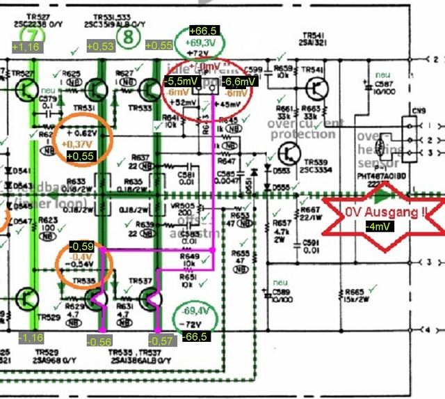 denon-poa-2200-schematic-detail-left-power-amp-voltages_checked_3-3