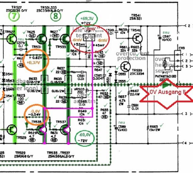 denon-poa-2200-schematic-detail-left-power-amp-voltages_checked_3