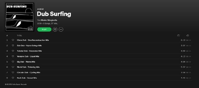 Master Margherita - Dub Surfing