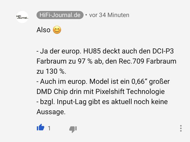 Antwort Ist Von LG Deutschland Bestätigt!!