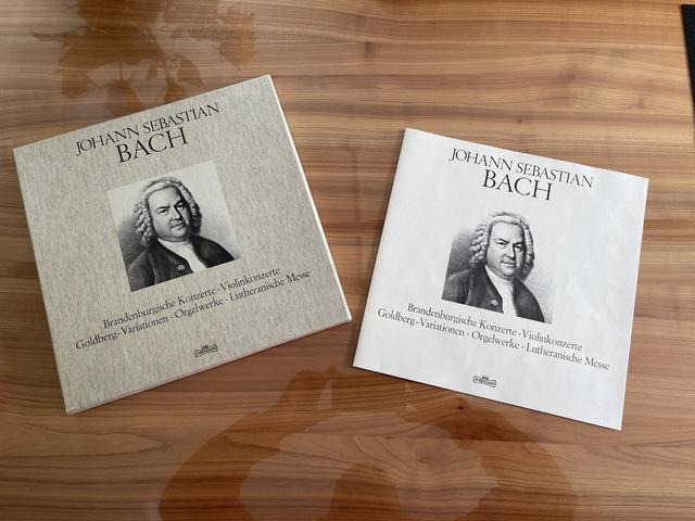 Bach Schallplatte