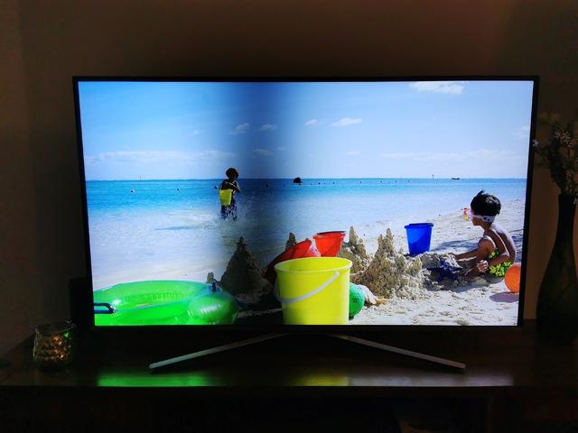 Samsung Smart TV Testbild