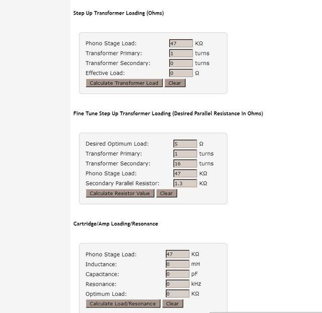 +++++Online Berechnung Aller Werte Für MCs   Vinyl Engine Beispiel