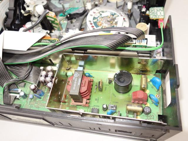 Netzteil Mit Defektem Kondensator, Grundig