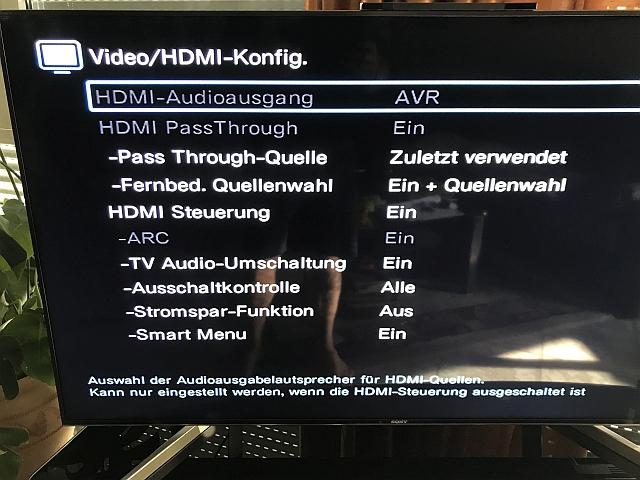 HDMI Konfig