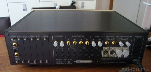 Accuphase DC-300 (Rückseite)