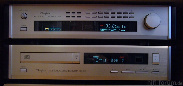 Accuphase T-108 & DP-60