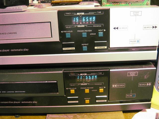 Philips CD104 Anzeige Ohne Filterfolie