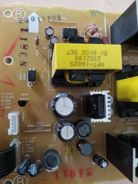 Bild1 Netzteil SX 30 DAB Defekt