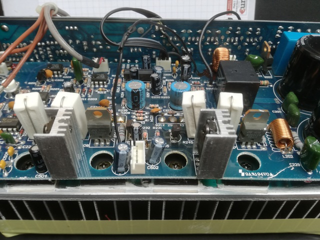 PSW3000 POWER PRE AMP PCB Steuerspannung