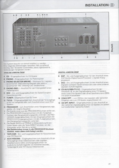 Philips S900 FA950 Anleitung