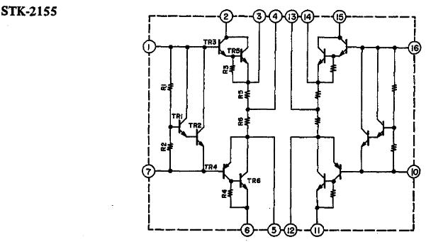STK2155 Schematic Diagram