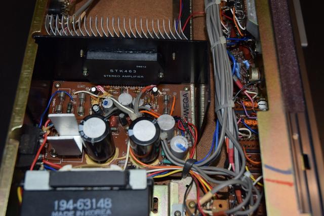 WEGA JPS 352 V100, Mit Neuer Endstufe STK463