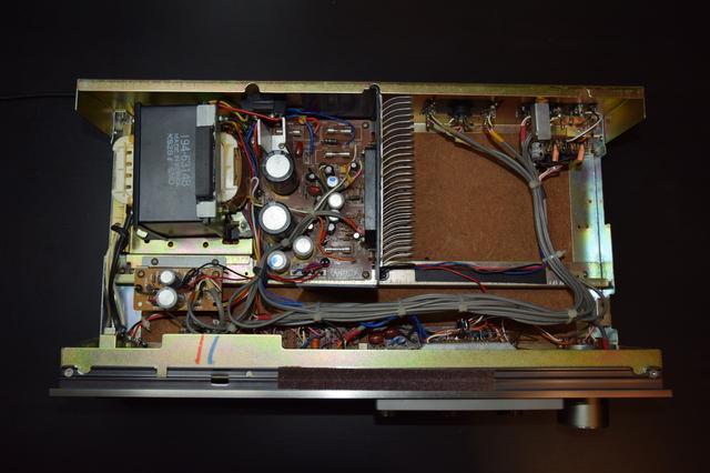 WEGA JPS 352 V100 Verstärker, Geöffnet Draufsicht