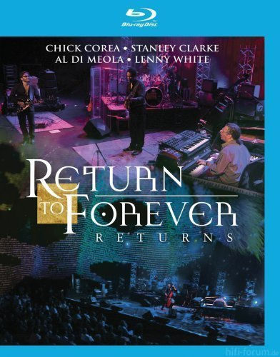 Return To Forever  Returns   Live At Montreux Blu Ray 2009