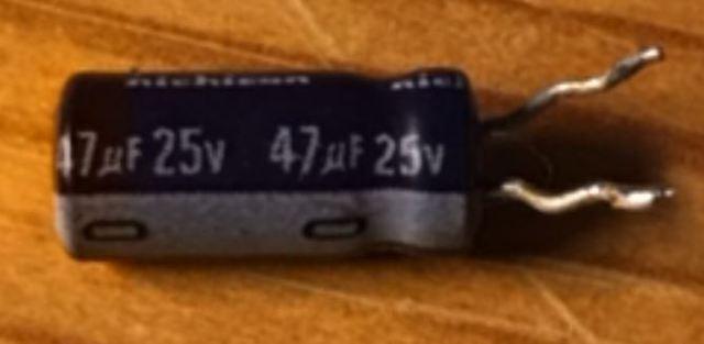47 uF 25V