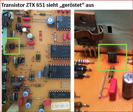 Transistor ZTX 651