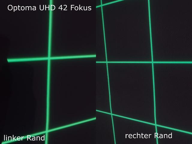 Optoma UHD42 Fokus Problem