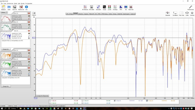 Subsystem+Main-LS Mit Dipol-Ripol Mit APO Vg