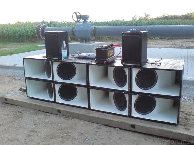 """8 X 12"""" Hybrid-horn"""