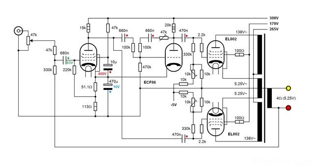 EL802 Amp