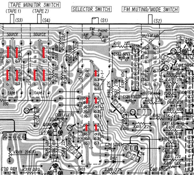 Technics Sa 303 Ausschnitt 179488