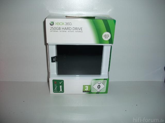 250gb Xbox Festplatte