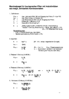 Maximalpegel Kernspulen v.3.1 S.1