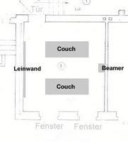 kaufberatung aufstellung beamer kaufberatung beamer. Black Bedroom Furniture Sets. Home Design Ideas