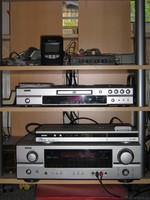 Denon AVR + DVD