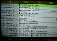 Sky Select und Bundesliga