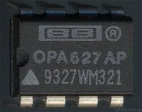 Original OPA627AP von Burr-Brown.