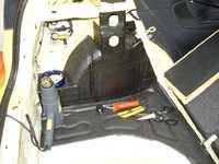 Reserveradmuldenausbau Ibiza 6L - Bitumisierung 4