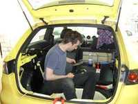 Reserveradmuldenausbau Ibiza 6L - Bitumisierung 8