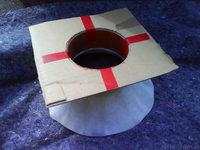 Reserveradmuldenausbau Ibiza 6L - Herstellung Abdeckplatte 105