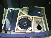 Reserveradmuldenausbau Ibiza 6L - Herstellung Abdeckplatte 10