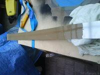 Reserveradmuldenausbau Ibiza 6L - Herstellung Abdeckplatte 125
